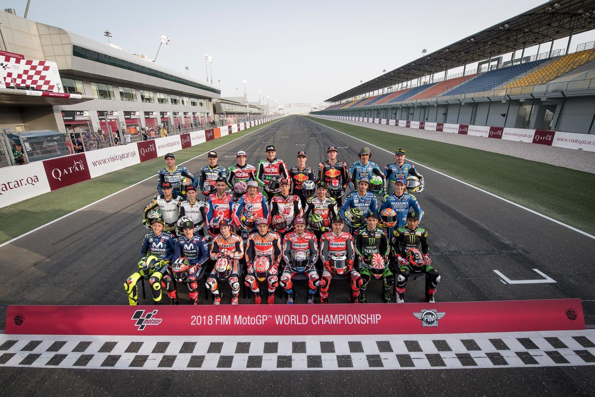 Thursday MotoGP Summary at Qatar: Making a Weird Weekend Even Weirder